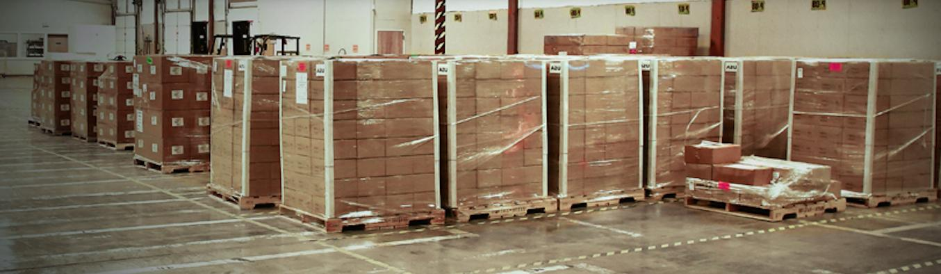 ProPack Benefits of ProPack's Online Pallet In/Out System